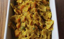 La ricetta gustosa della pasta alla zucca da servire ad Halloween