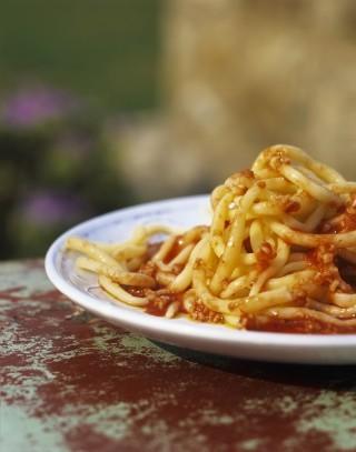 Pici all'aglione: la ricetta originale