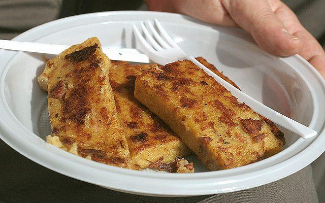 La polenta alla griglia con la ricetta sfiziosa
