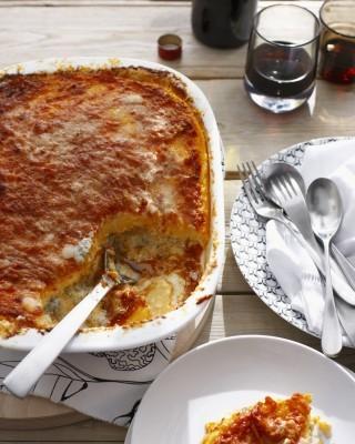 Polenta pasticciata con gorgonzola