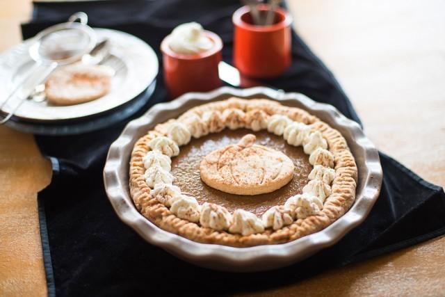 Presentazione della Pumpkin pie