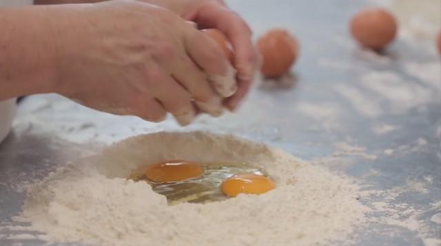 ravioli al cinghiale - 1 la pasta