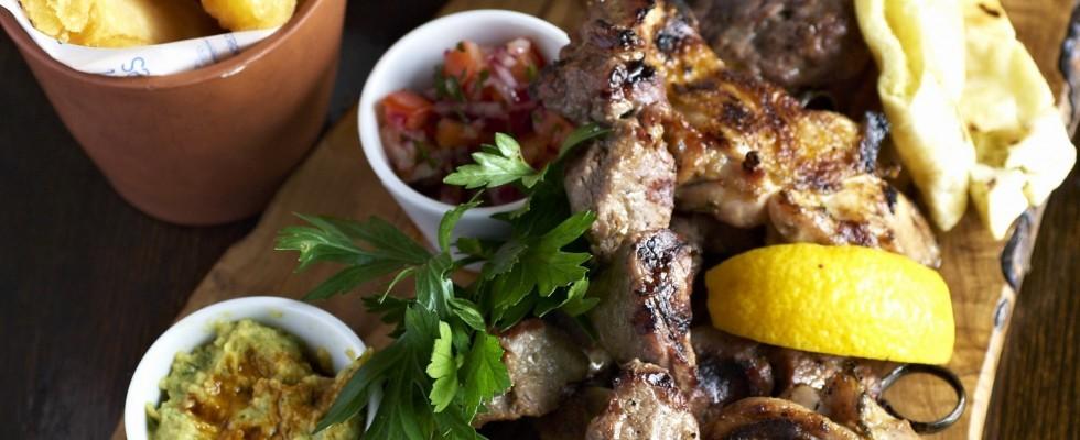 Spiedini di carne alla griglia