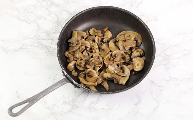 Pasticcio di verdure - Funghi trifolati