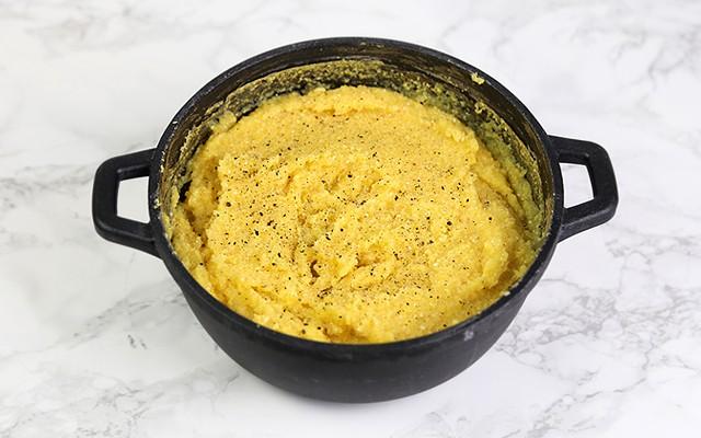 Polenta al forno - la polenta