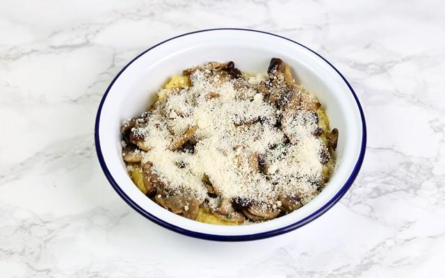 Polenta al forno - parmigiano