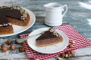 Cheesecake alla Nutella e panna