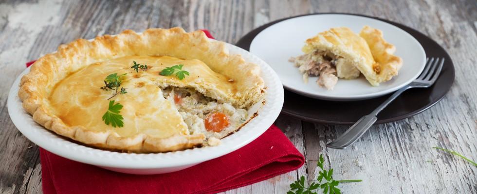 Chicken pie: pasticcio di pollo inglese