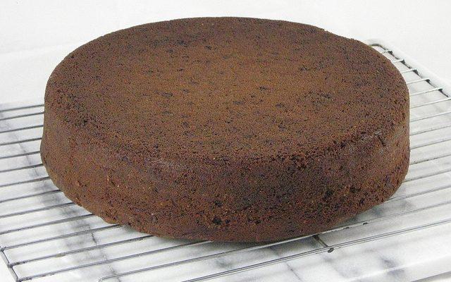 Ecco la torta al mandarino e cioccolato fondente