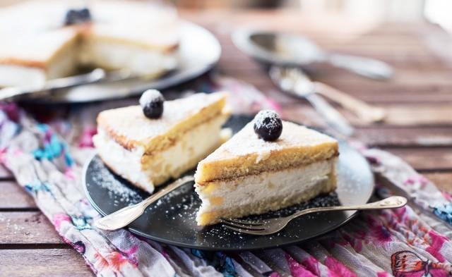 La torta ricotta e pere
