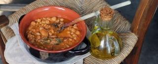 Zuppa di ceci e castagne contadina