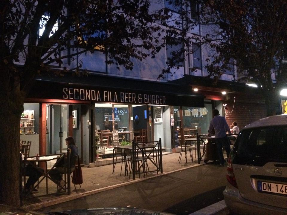 Cucina Con Chicca : Seconda fila beer burger roma agrodolce