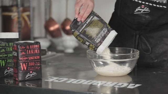 Calzone al forno - 1 farina