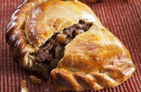 Cornish pasty: pasticcio di carne della Cornovaglia