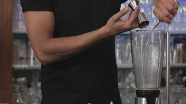 Frozen Margarita - 1 tequila