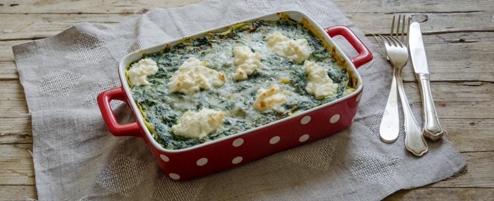 Lasagne ricotta e spinaci: la ricetta
