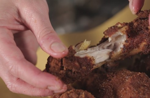 Ricetta del Pollo fritto croccante