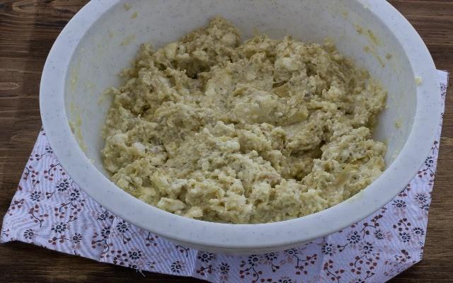 Step 3 torta rustica carciofi