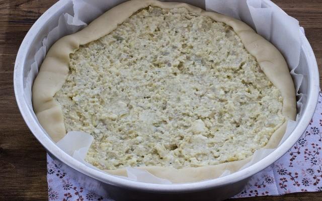 Step 4 torta rustica carciofi
