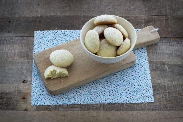 Still life biscotti con farina di riso
