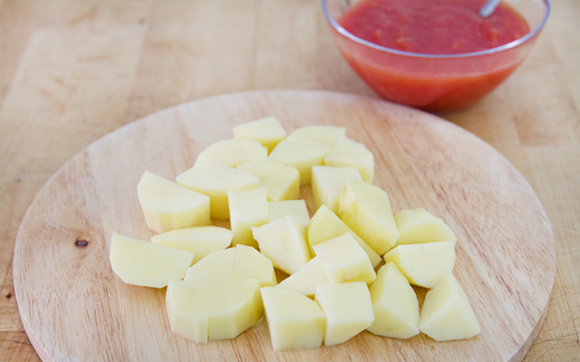 Stoccafisso con patate - patate