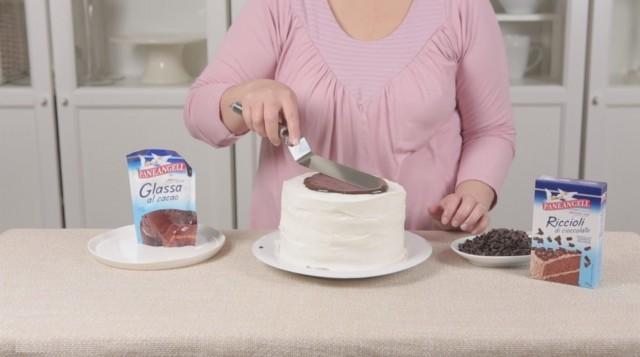 Torta glam step 2
