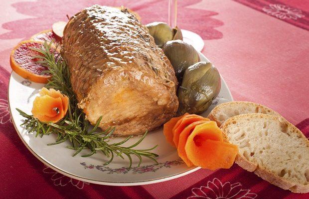 La ricetta dell'arista di maiale in crosta da fare al forno
