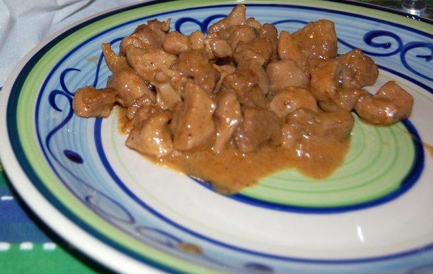 I bocconcini di tacchino al curry per una cena speciale