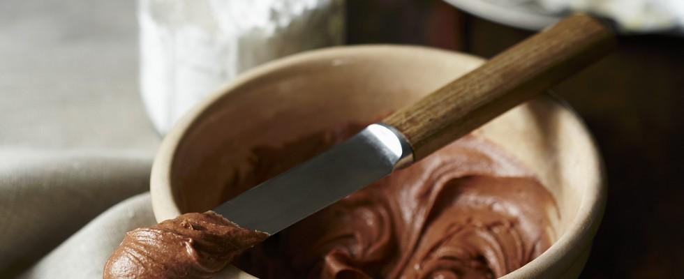Crema al burro al cioccolato fondente