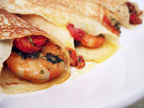 Crepes salate senza uova: la ricetta base