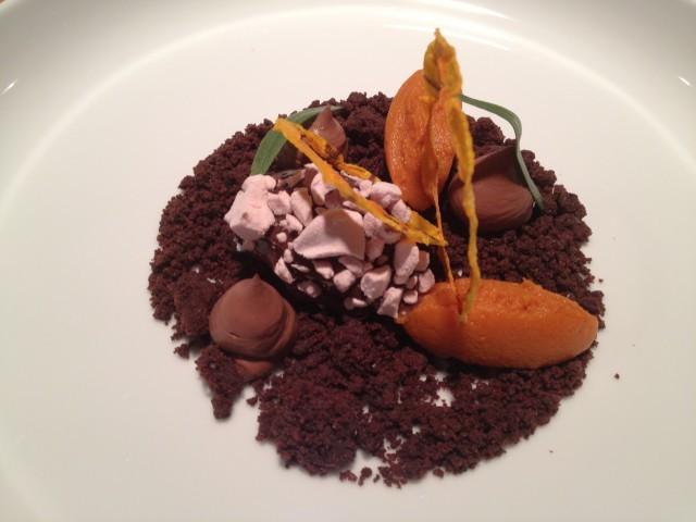 cioccolato zucca e dragoncello
