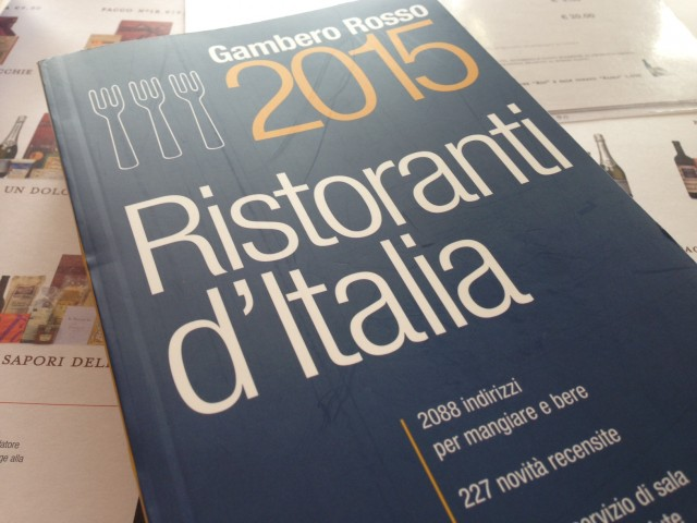 guida ristoranti d'italia 2015