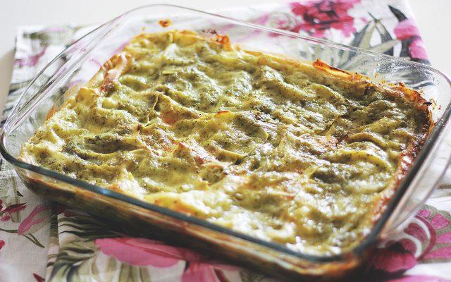 Come fare le lasagne al pesto senza besciamella
