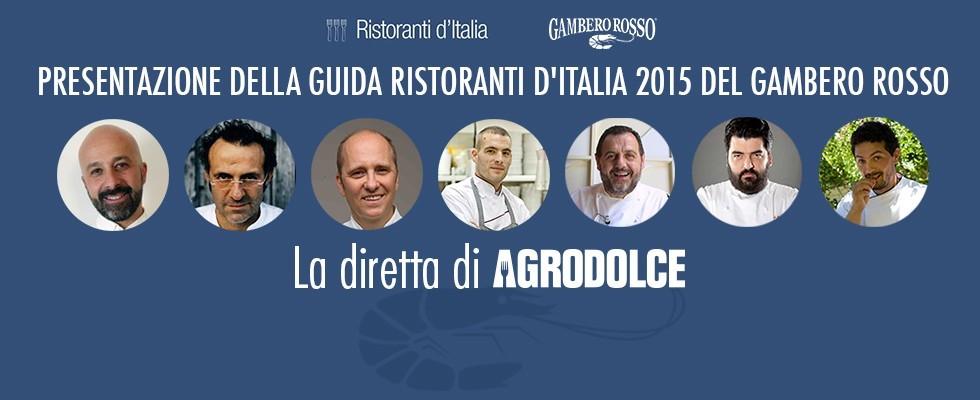 Ristoranti d'Italia 2015: in diretta dal Gambero Rosso