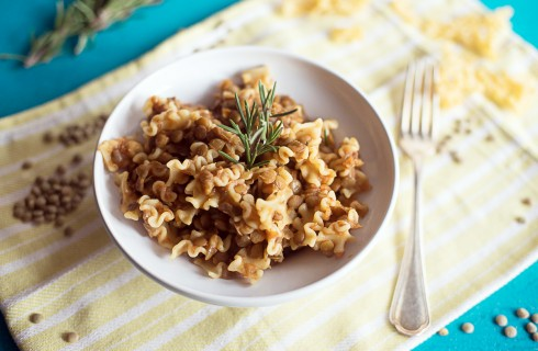 Pasta e lenticchie: la ricetta tradizionale