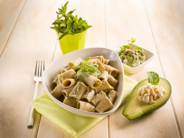 pasta con l'avocado