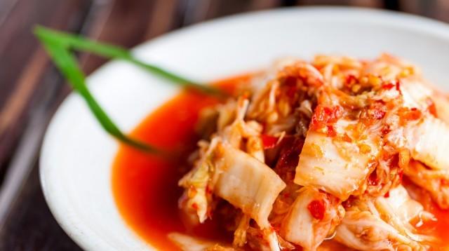 Kimchi coreano: cavolo fermentato