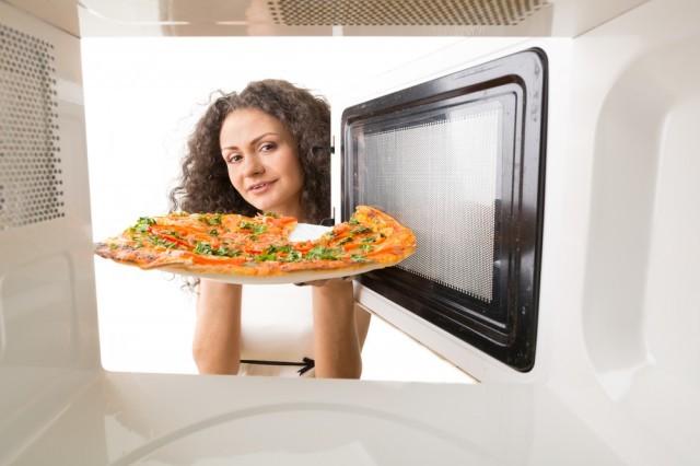 pizza nel microonde
