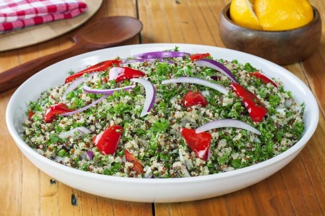 insalata di amaranto e quinoa