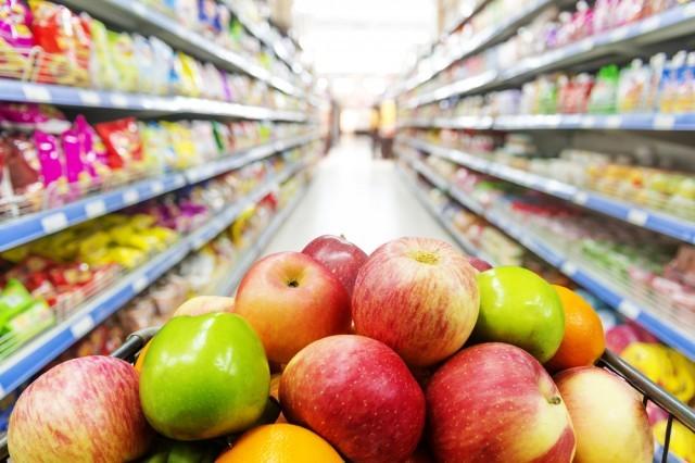 frutta in un supermercato