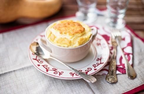 Sformato di zucca e formaggio