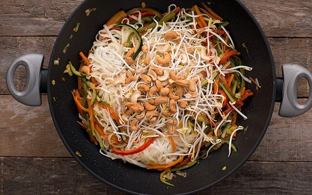 spaghetti di riso alle verdure tradizione cinese agrodolce On ricette cinesi riso