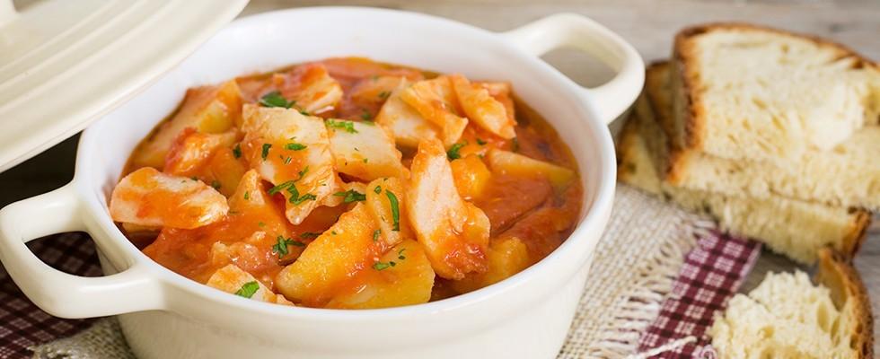 Stoccafisso con patate: cucina napoletana