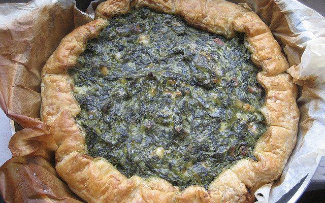 Ecco la torta salata agli spinaci e ricotta da preparare con il Bimby