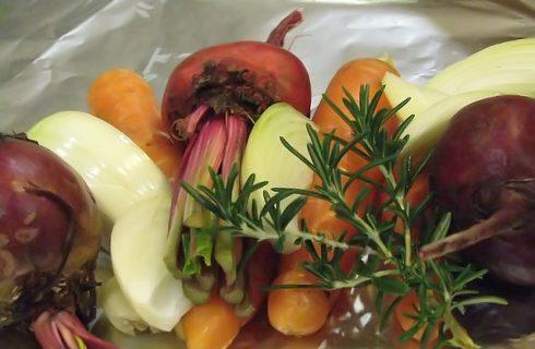 Come fare le verdure al cartoccio alla brace