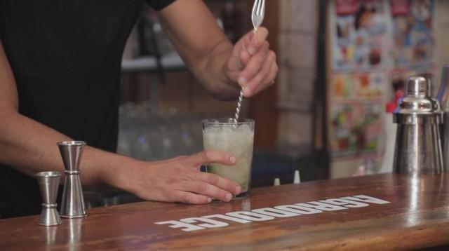 virgin mojito - 4 fill up di ginger ale