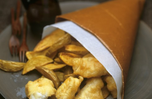 Fish and chips: lo street food inglese