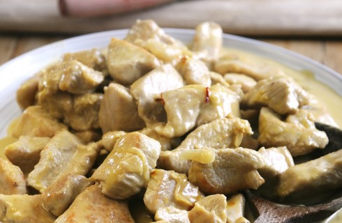 Bocconcini di pollo in padella