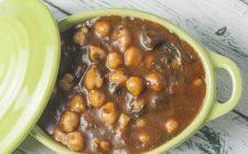 La zuppa di ceci e funghi per le fredde serate autunnali