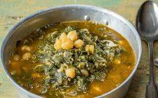 La zuppa di ceci in zimino alla genovese
